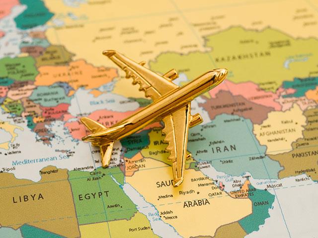 Изменения на карте израильских авиамаршрутов: Канары, Сычуань, пролеты над Саудовской Аравией и вылеты из Сде-Дова