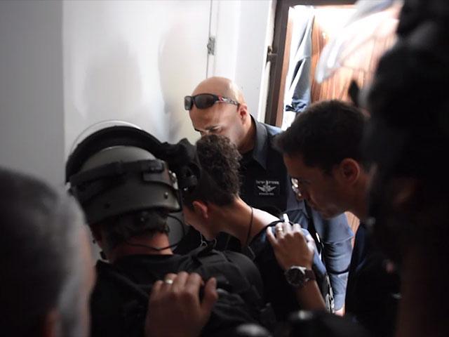 Задержание подозреваемого в Хайфе. 12 марта 2018 года
