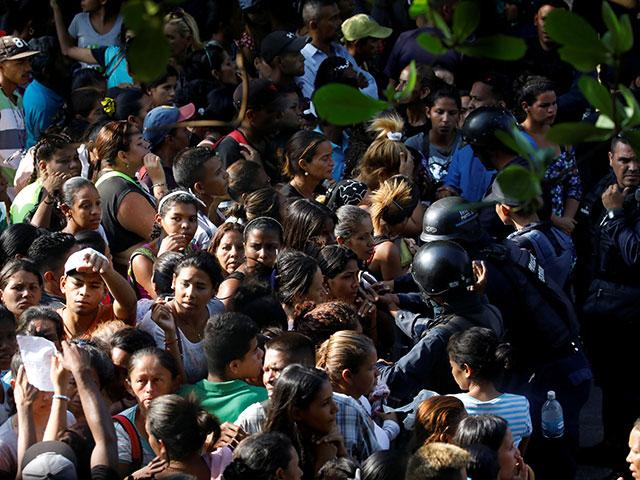 У тюрьмы в Венесуэле. 29 марта 2018 года