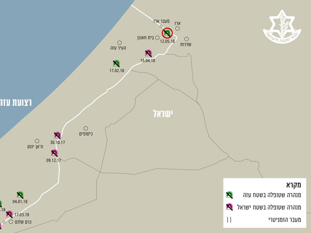 ВВС ЦАХАЛа уничтожили туннель на границе с сектором Газы