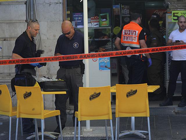 На месте происшествия в Иерусалиме. 16 мая 2018 года