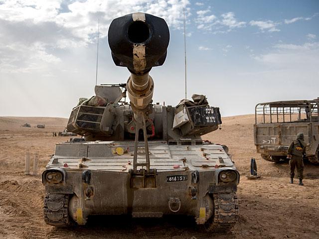 Танки ЦАХАЛа нанесли удар по позиции ХАМАС в ответ на обстрел военнослужащих из Газы