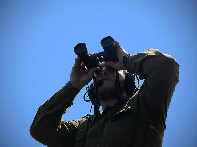 Мультикоптер из Газы упал на израильской территории