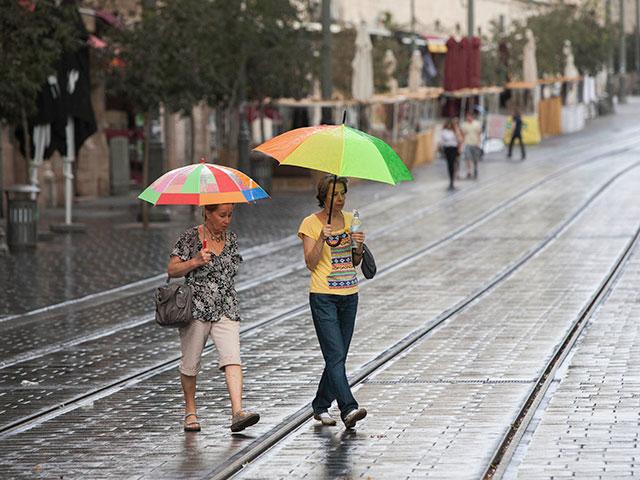 Второй день в Израиле идут дожди: затопления в низинах