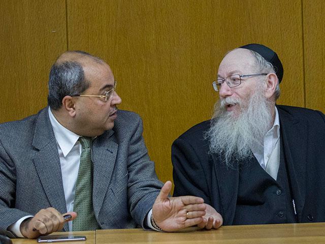 Ахмад Тиби и Яаков Лицман