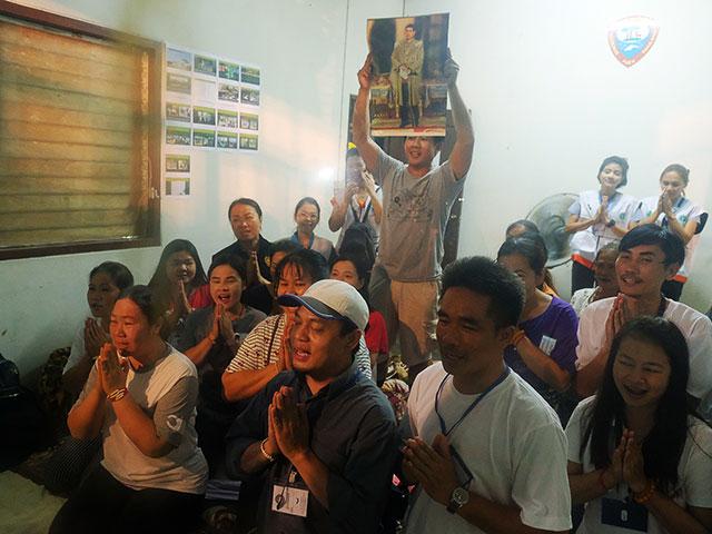 """Подготовка к спасению детей из """"слепой пещеры"""" в Таиланде"""