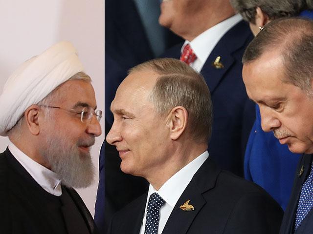 Трехсторонний саммит по Сирии: президенты Турции, Ирана и РФ встретятся в Тегеране