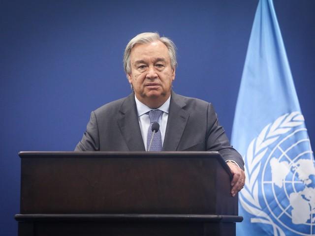 """Генсек ООН предложил ввести в Газу вооруженный контингент """"для защиты палестинцев"""""""