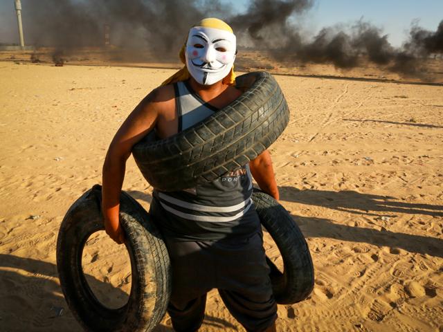 """На границе сектора Газы прошел очередной """"марш возвращения"""""""