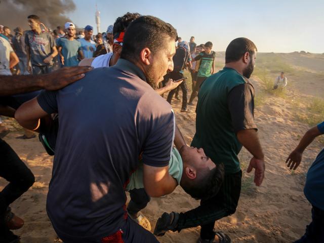 """Минздрав Газы: убит еще один участник """"марша"""""""