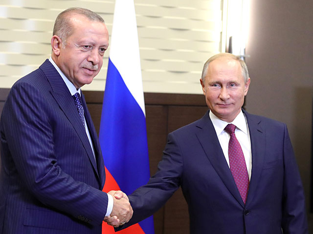 Путин и Эрдоган договорились о создании буферной зоны в районе Идлиба