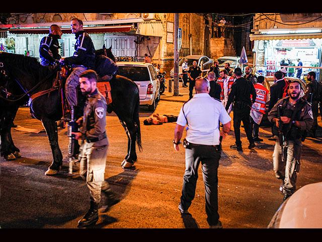 Попытка теракта в Йом Кипур в Старом городе Иерусалима