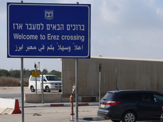 """Через КПП """"Эрез"""" в сектор Газы прибыла египетская делегация"""