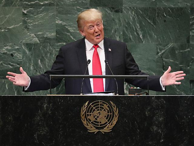 """Трамп о палестино-израильском конфликте: """"Мы не будем заложниками старых догм"""""""