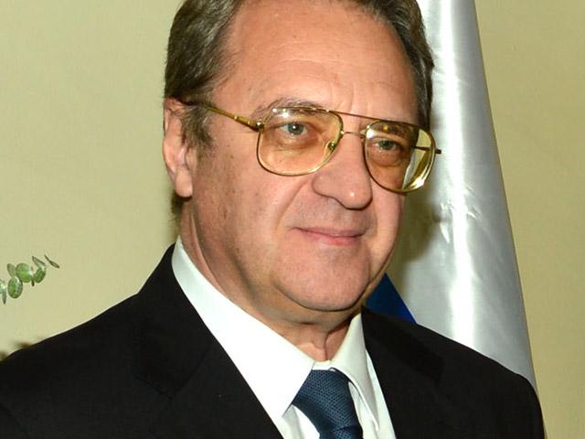 Замглавы МИД России и спецпредставитель президента РФ по Ближнему Востоку Михаил Богданов