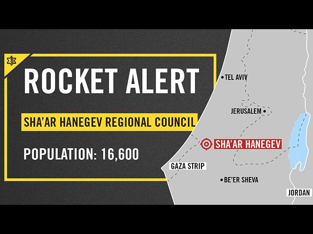 """Около границы Газы сработали сирены """"Цева адом"""""""