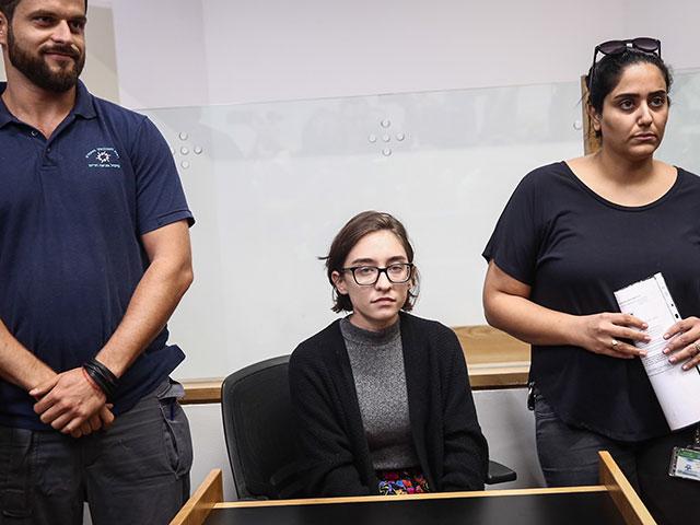 Лара аль-Касем в суде. 11 октября 2018 года