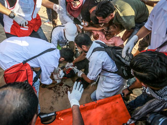 """Минздрав Газы сообщает о двух убитых участниках """"марша"""""""