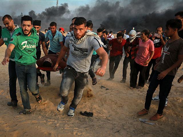 """ВВС ЦАХАЛа нанесли удар по """"поджигателям"""" в секторе Газы"""