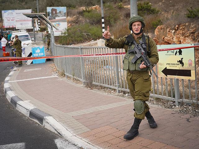 Нападение на перекрестке Гитай Ависар, террорист застрелен
