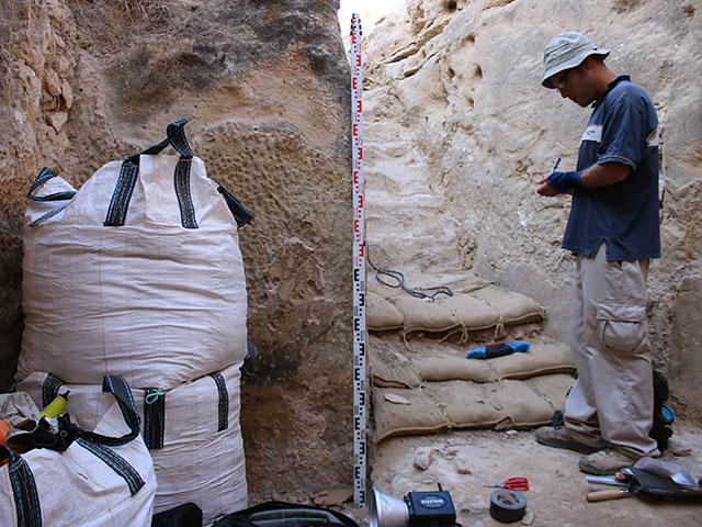 Корабли в пустыне. В Беэр-Шеве обнаружен резервуар с римскими рисунками