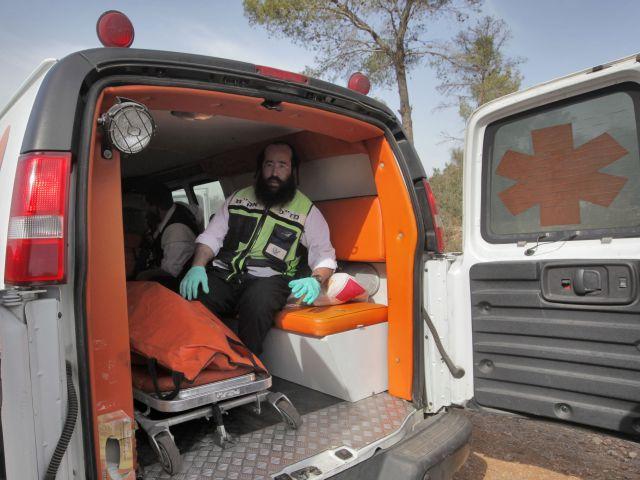 В Иерусалиме тяжело травмирован мужчина