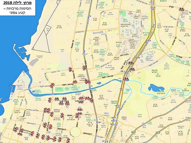 Во вторник в Тель-Авиве пройдет ночной марафон: список перекрываемых у