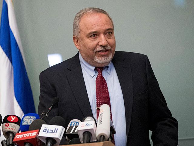 Пресс-служба НДИ опубликовала текст заявления Либермана по поводу отставки с поста министра обороны