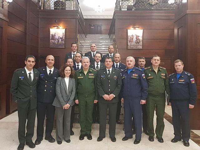 В Москве прошли переговоры представителей армий Израиля и России