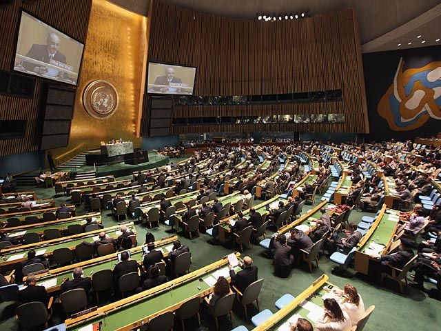 Генеральная Ассамблея ООН приняла резолюцию против героизации нацизма