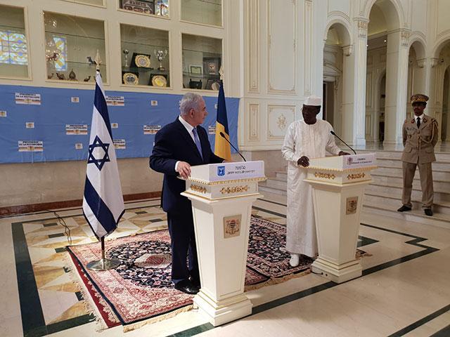 Израиль и Чад договорились о восстановлении отношений
