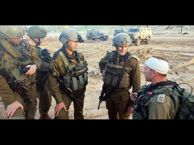 Начальник генерального штаба ЦАХАЛа Авив Кохави посетил границу с Газой