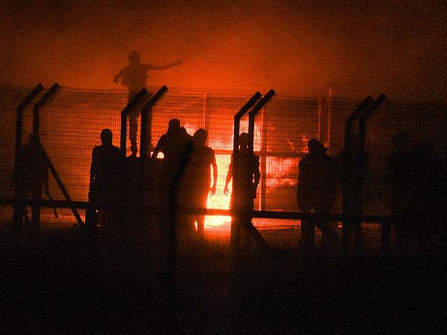 """Возобновились """"ночные столкновения"""" на границе с Газой"""