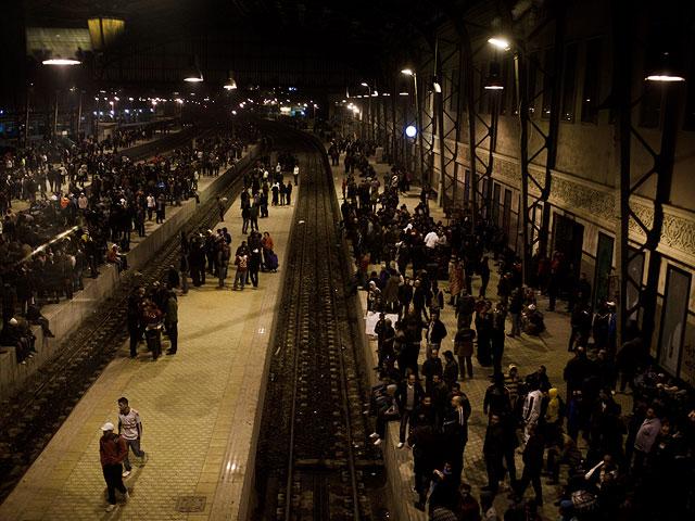 Пожар на центральном вокзале Каира, не менее 20 погибших