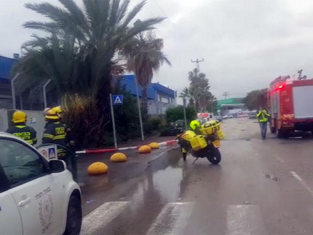 На месте происшествия в Беэр-Тувии. 28 февраля 2019 года