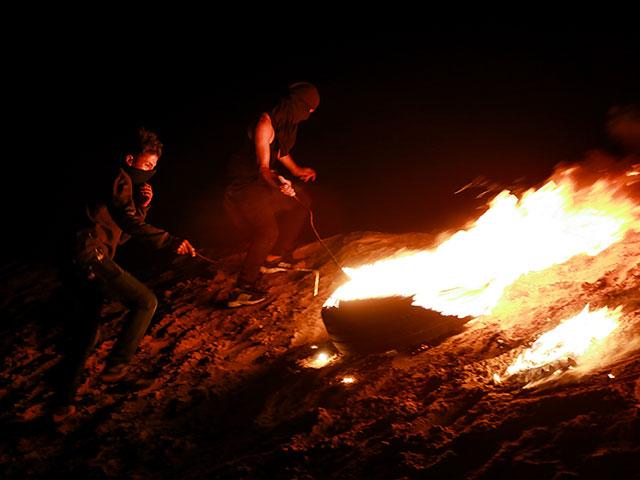 """""""Ночные террористы"""" на границе Газы"""