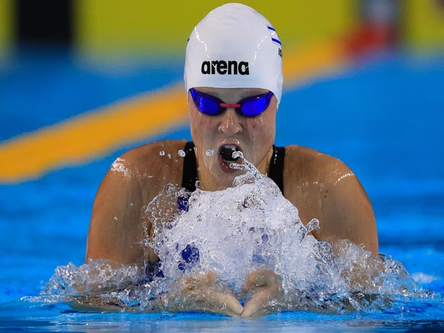 Анастасия Горбенко установила рекорд Израиля и завоевала путевку на олимпиаду