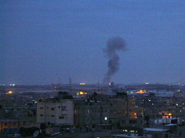 ВВС ЦАХАЛа нанесли удары по сектору Газы