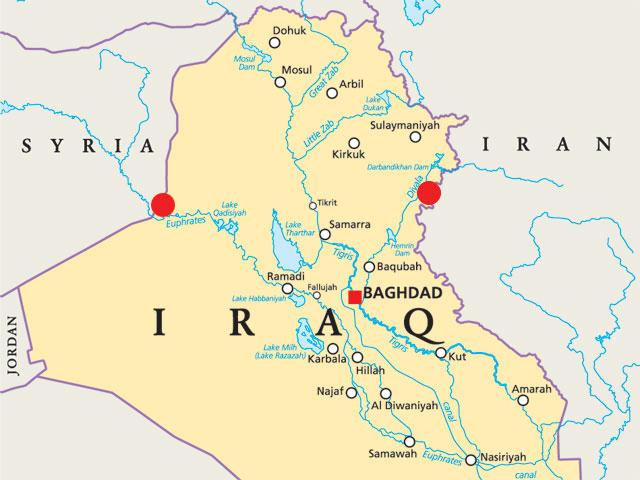 СМИ: Ирак открывает границу с Сирией для иранских военных