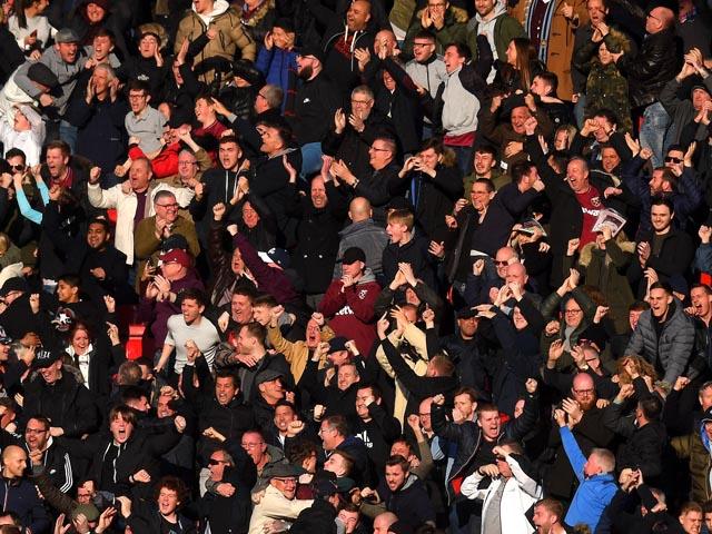 """""""Вест Хэм"""" запретит группе болельщиков посещать матчи из-за антисемитских кричалок"""