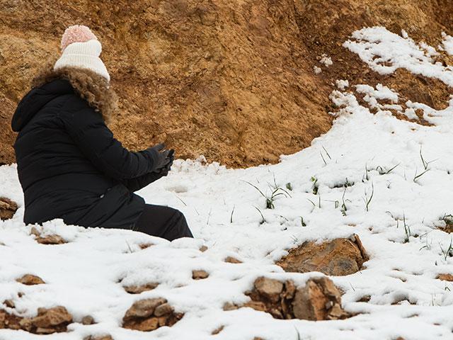 Доступ на горный курорт Хермон снова закрыт из-за снегопада