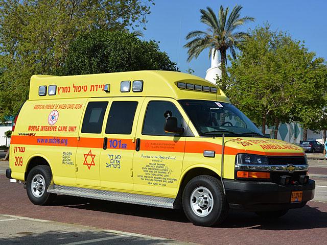 В Иерусалиме машина сбила ребенка, катавшегося на велосипеде