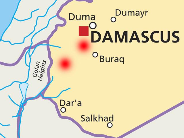 """Источник: ЦАХАЛ уничтожил около Дамаска иранские """"Фаджары"""" и """"Корнеты"""""""