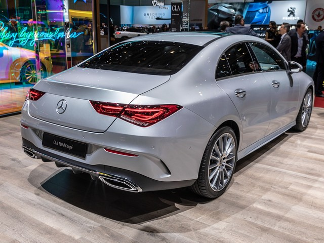 Mercedes-Benz CLA-Class нового поколения