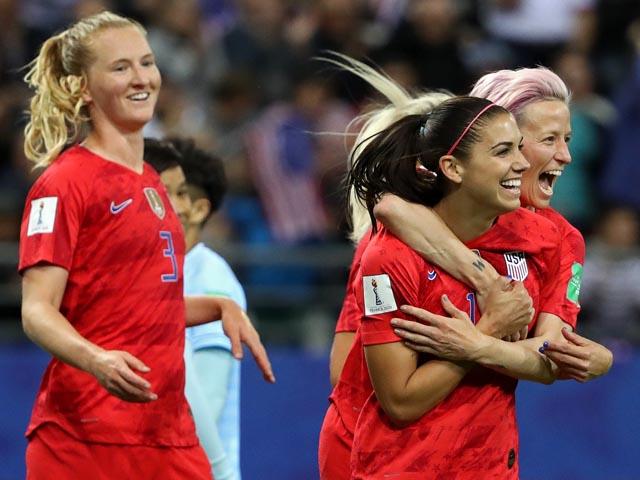 Американки забили 13 мячей и установили рекорд чемпионатов мира