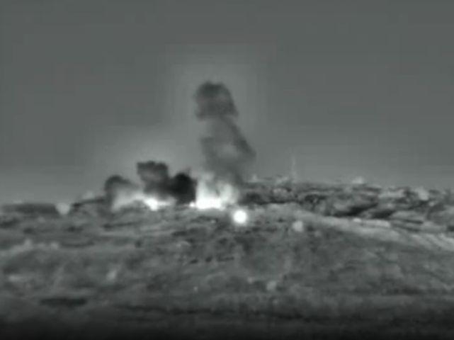 Удар по цели на юге Сирии (архив)