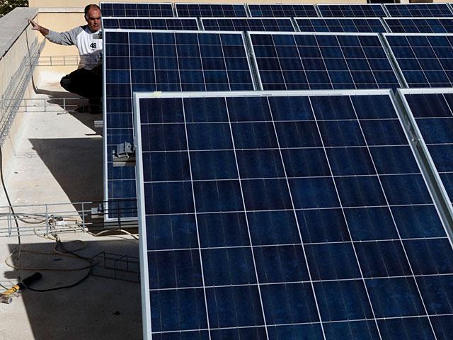 Палестинская автономия начала установку фотовольтовых элементов на крышах школ