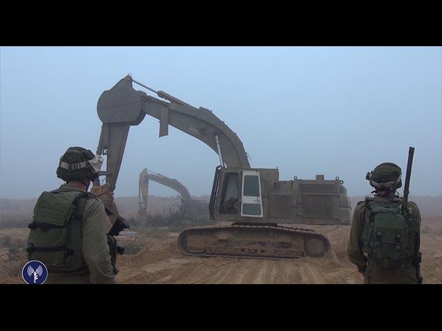 На границе с сектором Газы    (архив)
