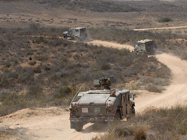 Перестрелка между военными и контрабандистами на границе с Египтом, есть раненые