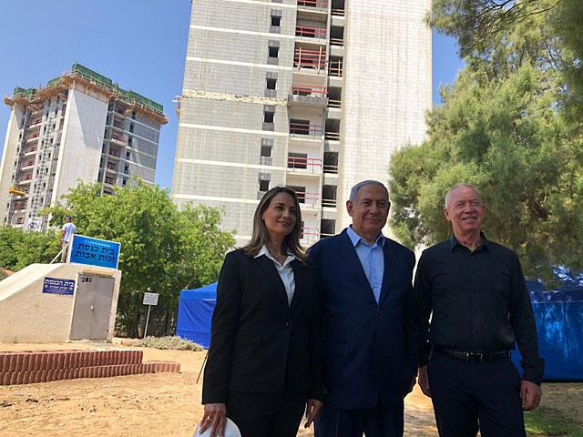 """Министр Йоав Галант: """"На первом этапе будут введены в эксплуатацию 2600 единиц социального жилья"""""""